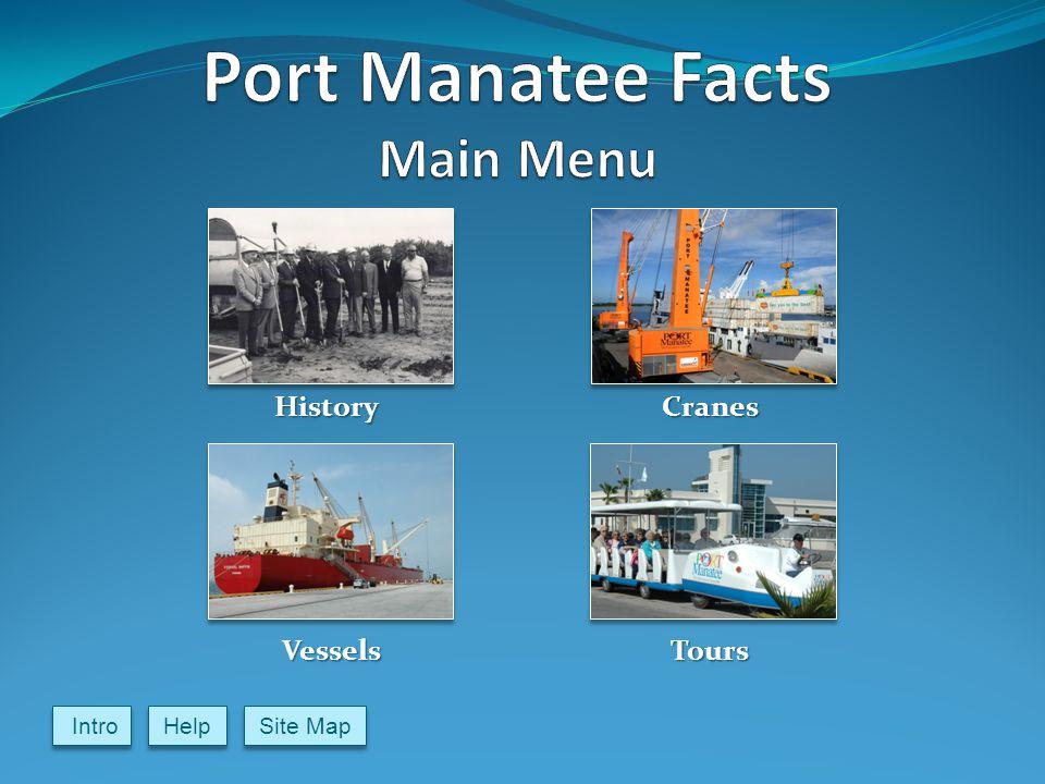 Vessels HistoryCranes Tours Site Map Intro Help