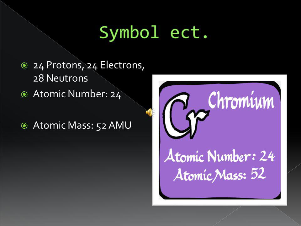 Chromiums Crystalline Structure