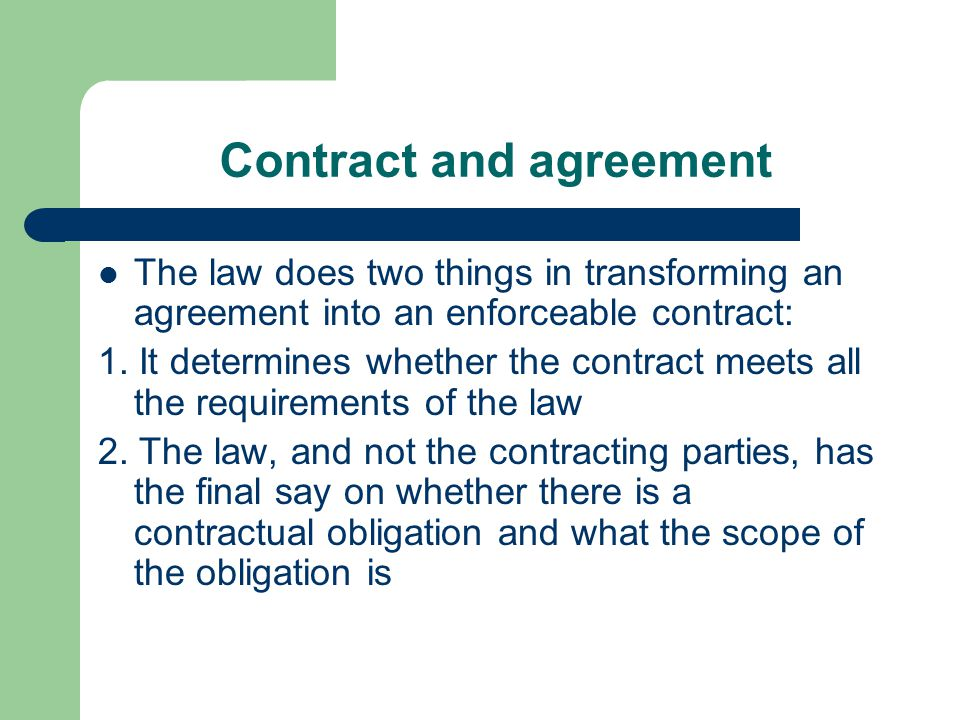 Unenforceable contracts Contract that is valid in all respects, but cannot be enforced by an action in law because the party wishing to enforce it lacks some kind of evidence (evidence in writing)