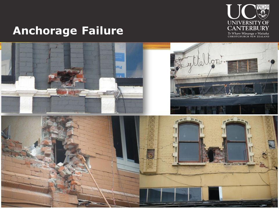Anchorage Failure