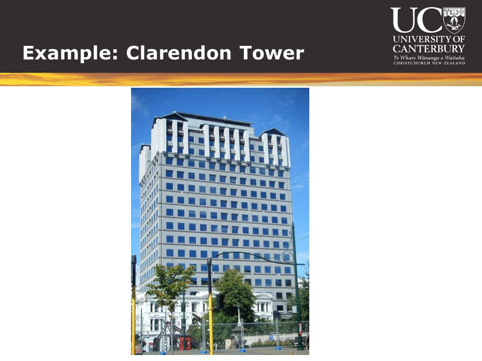 Example: Clarendon Tower