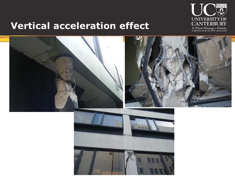 Vertical acceleration effect