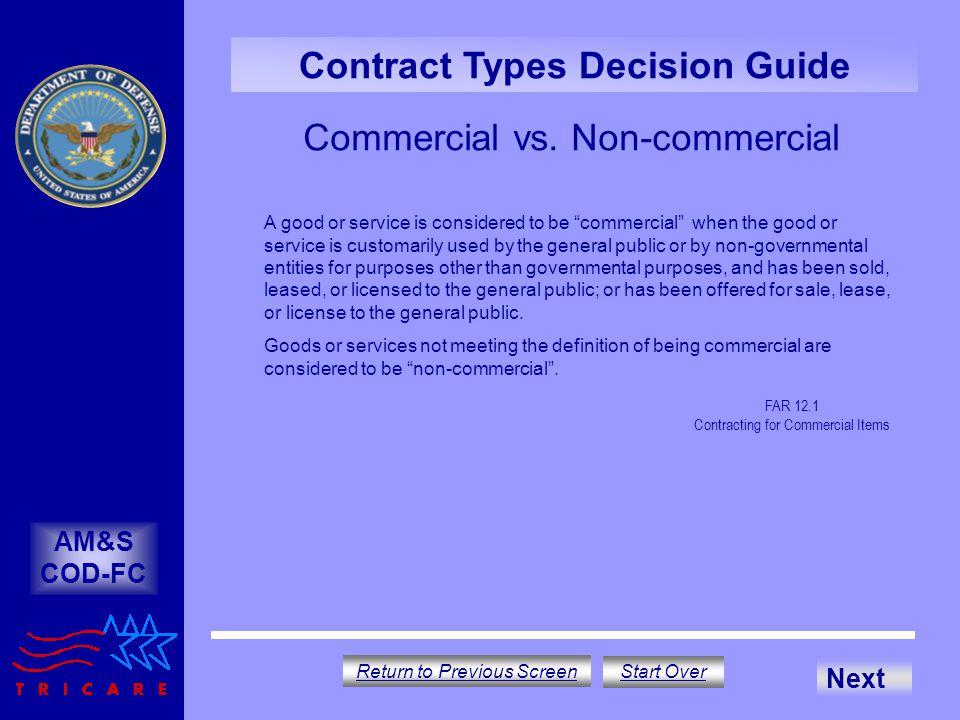 Commercial vs.