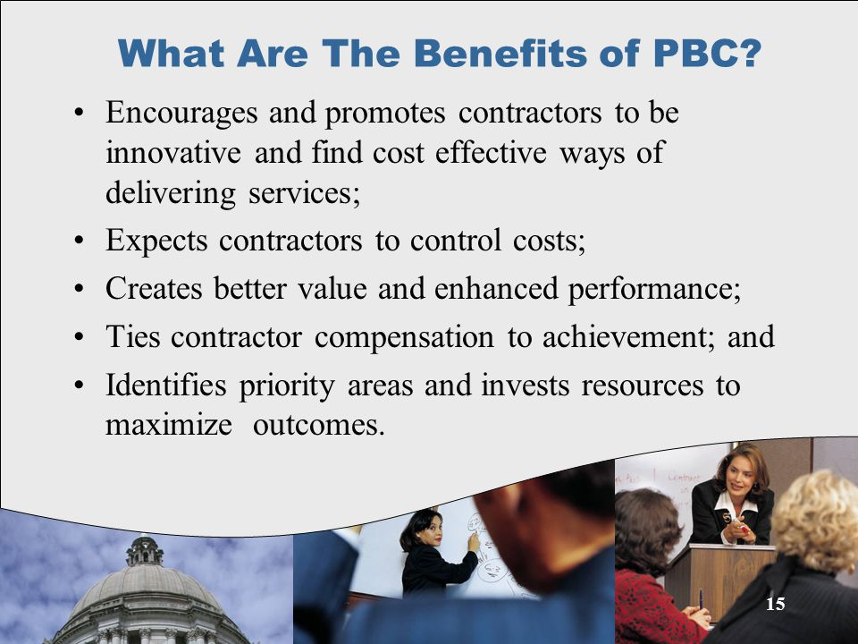 15 What Are The Benefits of PBC.