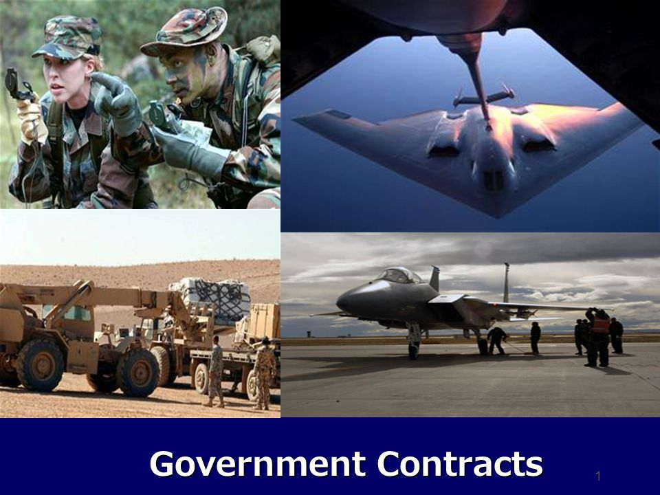 1 Government Contracts