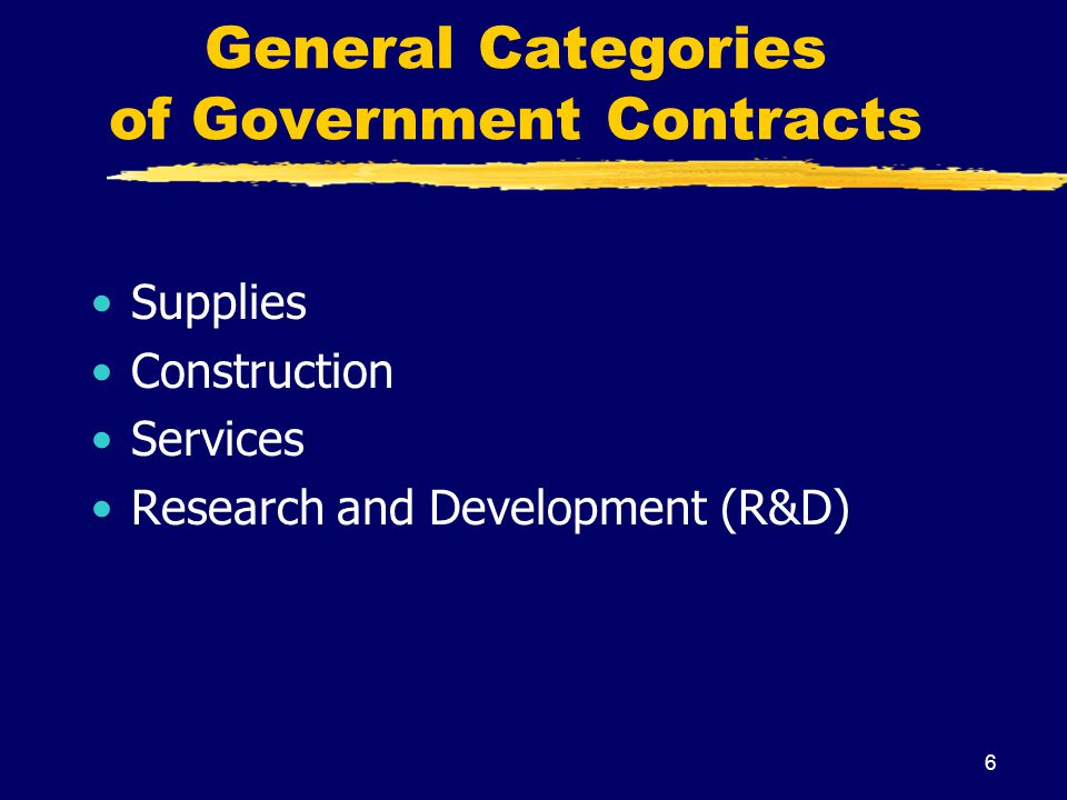 27 4 Phases of Government Contracts Acquisition Planning Pre-Award (Source Selection) Post-Award (Performance) Close-Out