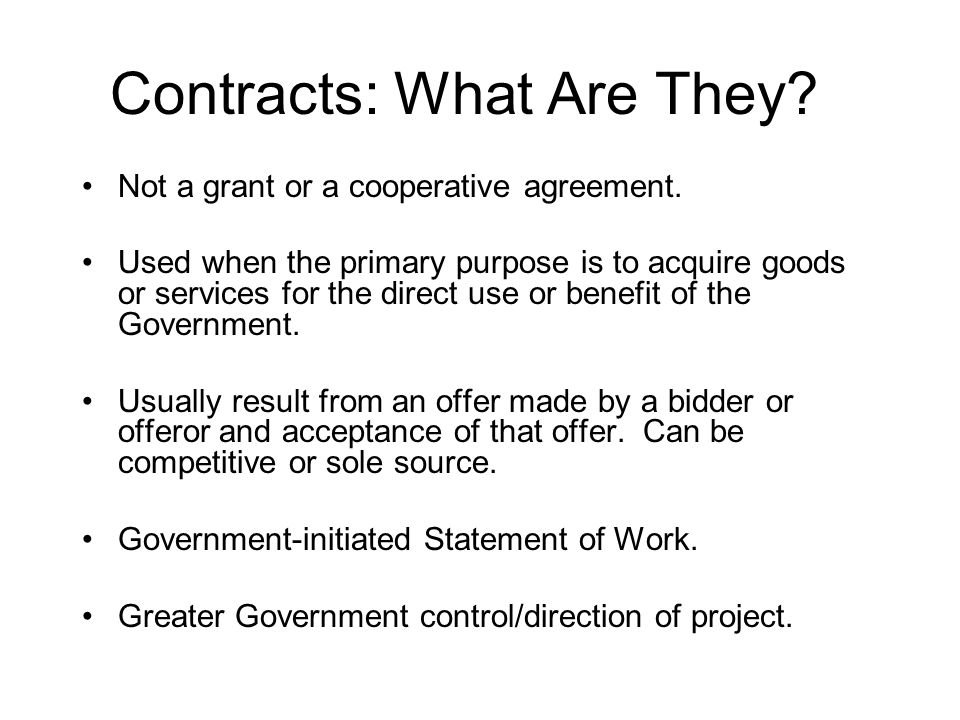 What Else.Contracting Processes 1.