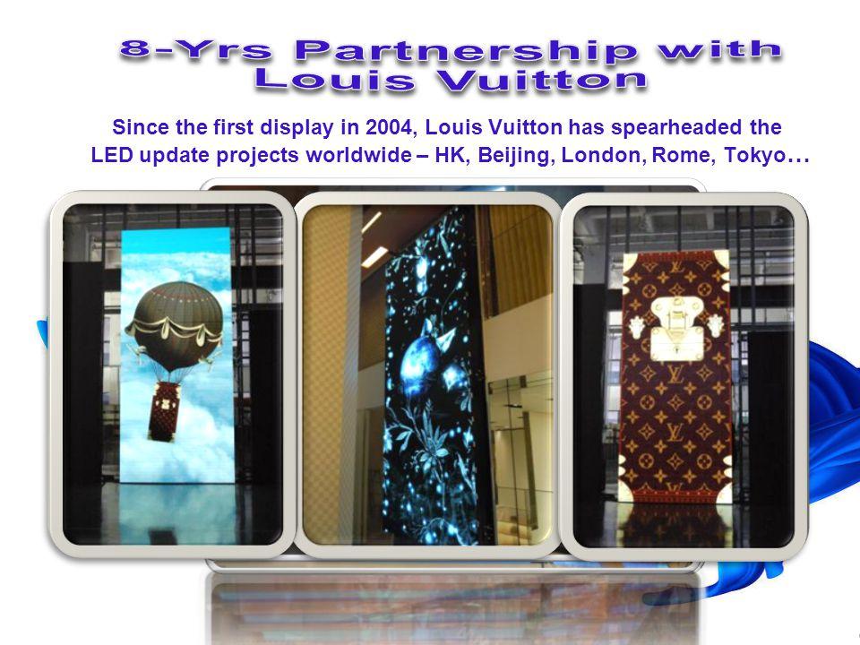 Louis Vuitton FANCL Tulip Media Group MTR Co., Ltd. Shenzhen Metro EMSD, HK ASR Gov. Siemens Netherlands N. V. Siemens Hong Kong Ltd. Siemens Thailand