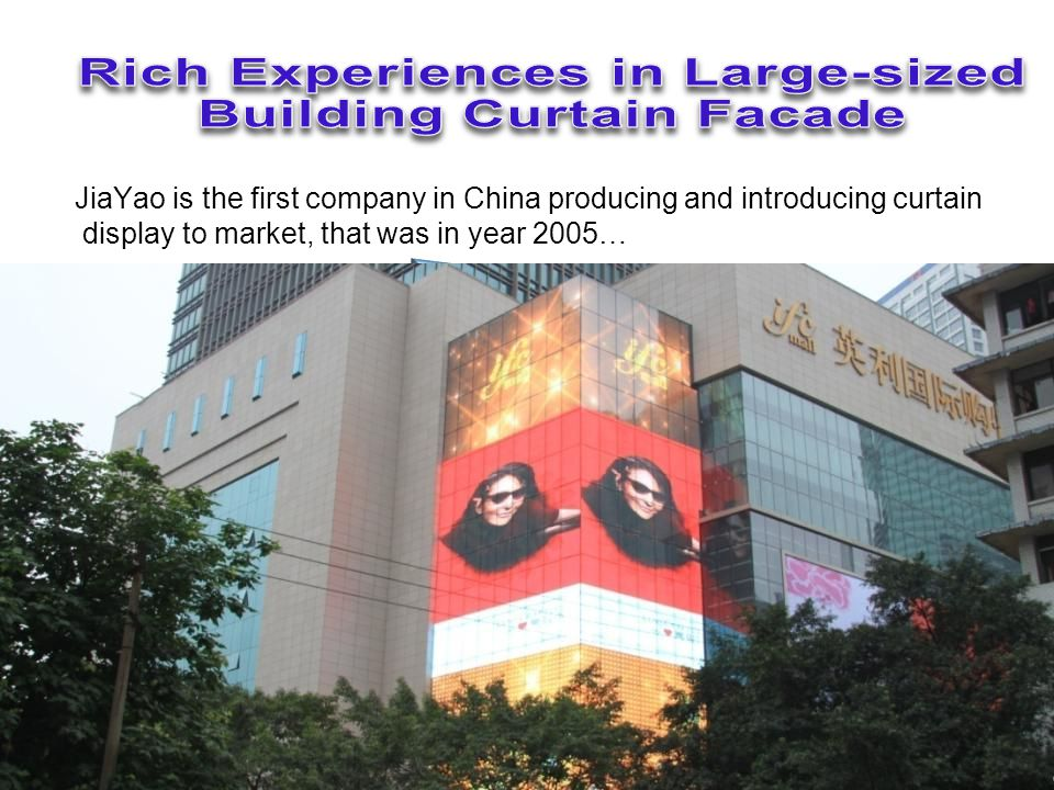 This Chinas first curved display 184sqm, standing at the busiest city center of Shenzhen, has been working for 6 years w/o a single shut-down…