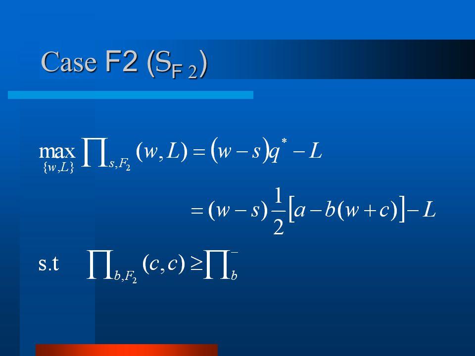Case F2 ( S F 2 )