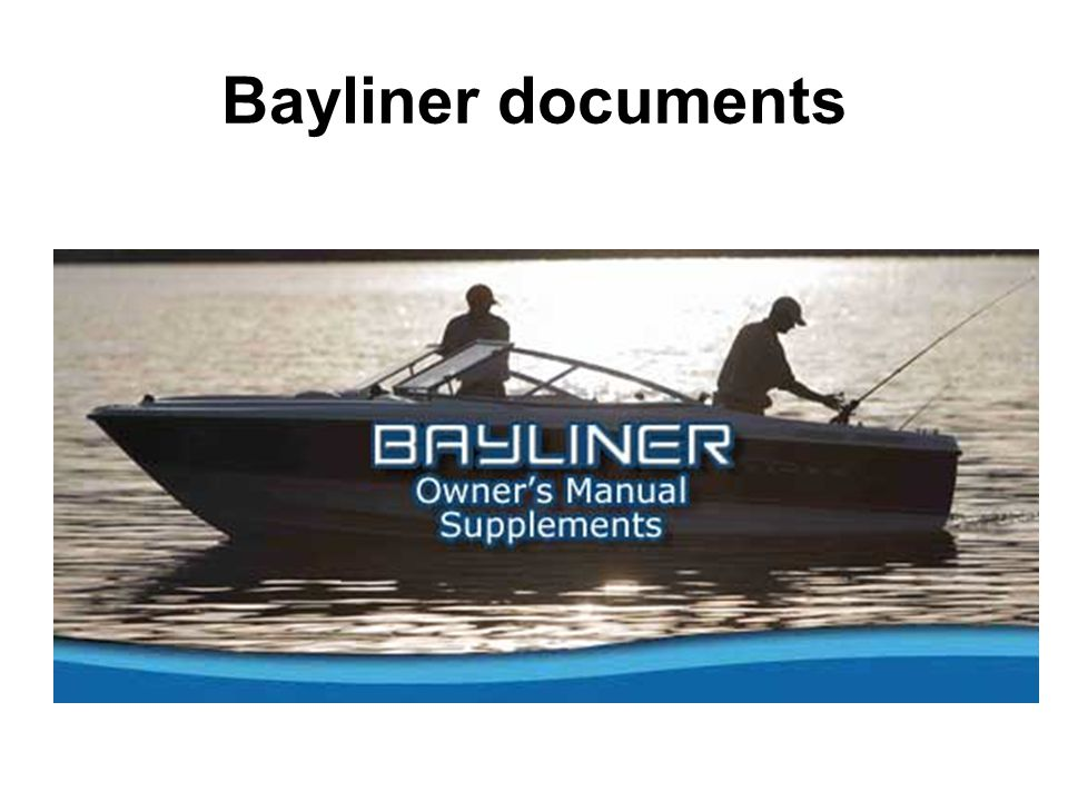 Bayliner documents