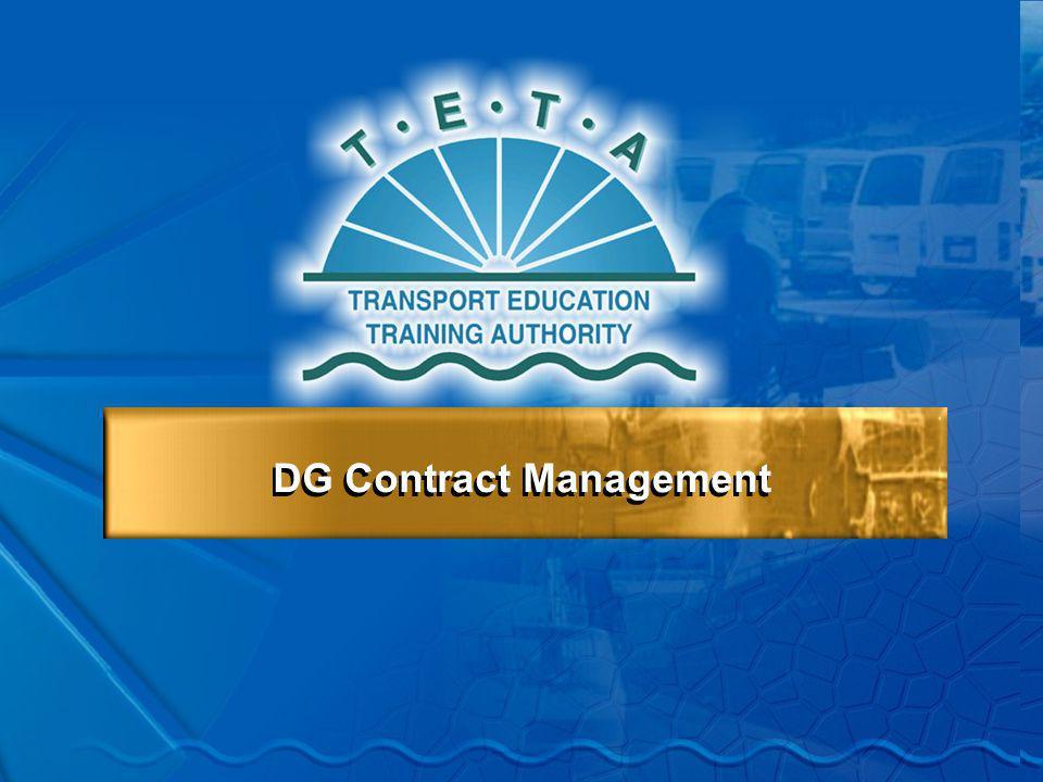 DG Contract Management