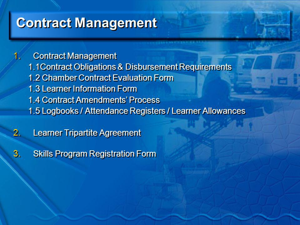 Contract Management 1.