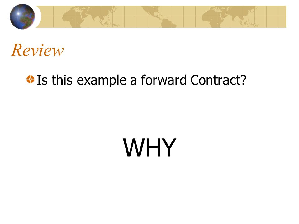 Review Identify the essential parts of a contract in the example Two Parties: Andy, Bob Offer and Acceptance 104,000 for a house Sufficient Consideration One year Must be Lawful