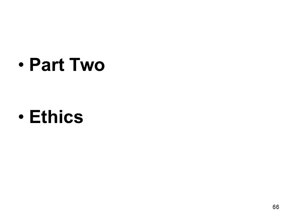 66 Part Two Ethics