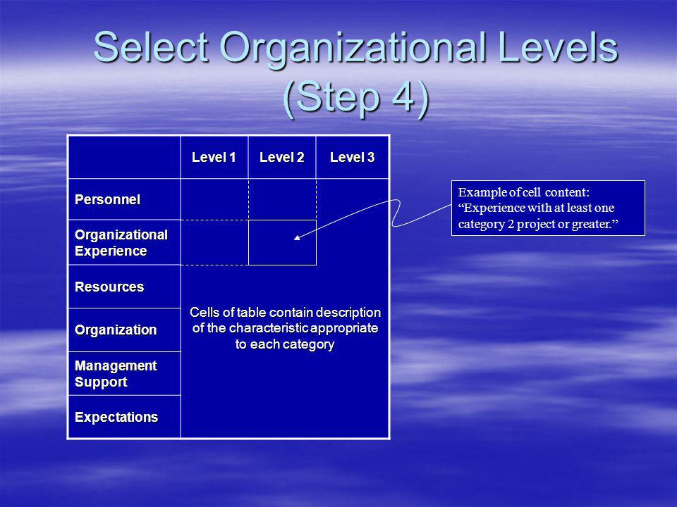 Decision Model – Step 4 Step 2 Work Allocation Step 4 Determine Agency Step 3 Define Project Categories NO YES Send Individual Projects through the Model Step 5 Select applicable systems engineering process(es) & candidate procurement package(s) Step 6 Apply Differenti- ators Step 7 Package Assessment and Final Selections Step 8 Define Contract Scope and Terms and Conditions Schedule Constraints Start End