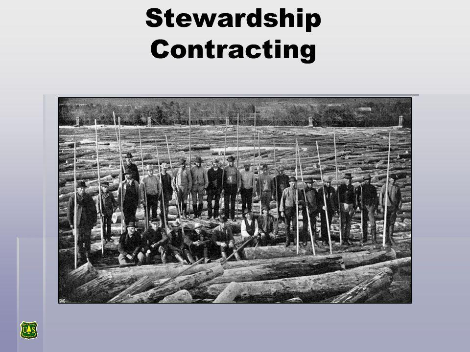 Stewardship Contracting