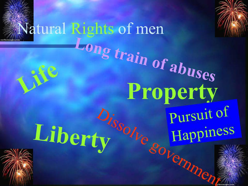 Compare John Lockes ideas with the Declaration of Independence
