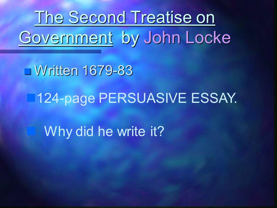 John Lockes ideas are the foundation of the Declaration of Independence