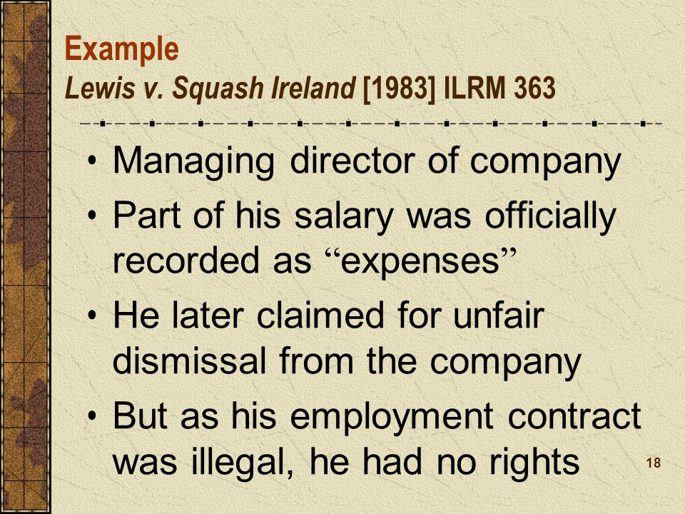 Example Lewis v.