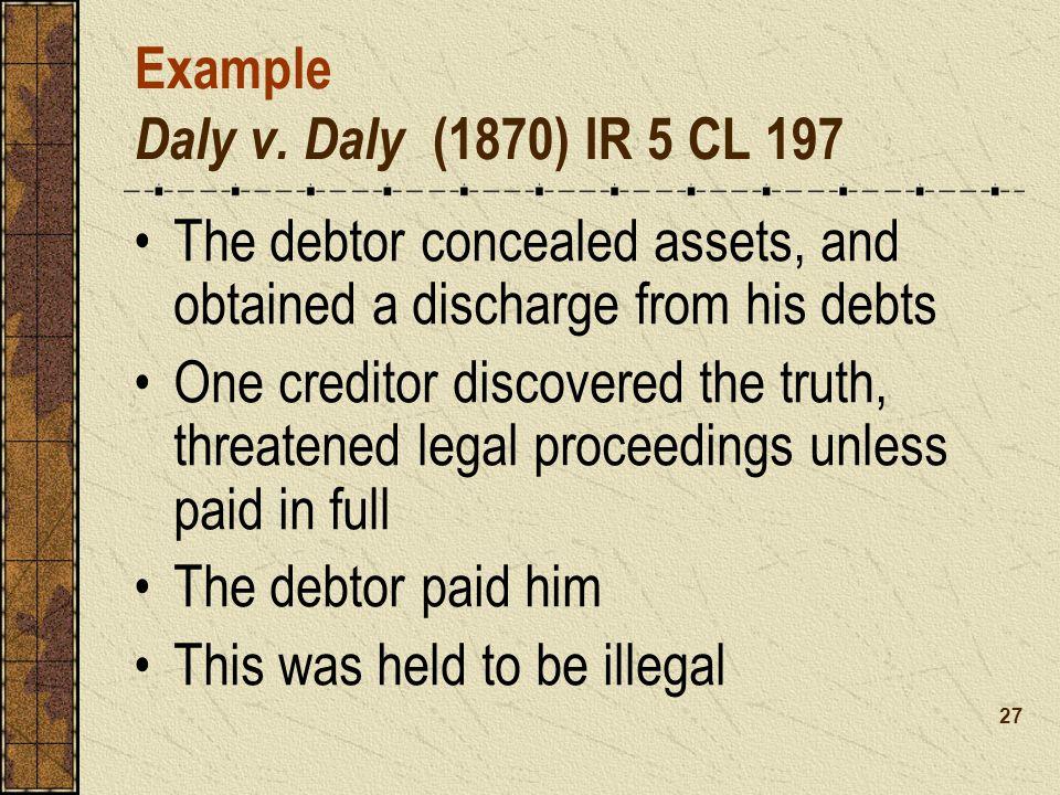 Example Daly v.