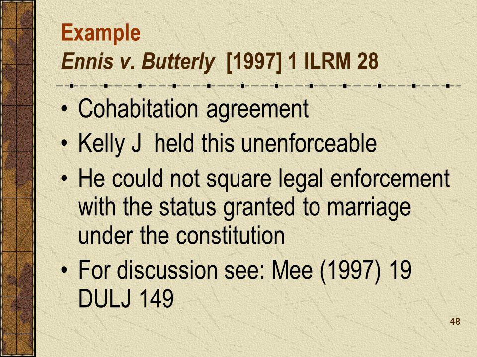 Example Ennis v.