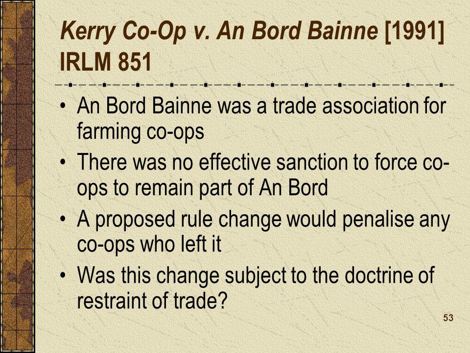Kerry Co-Op v.