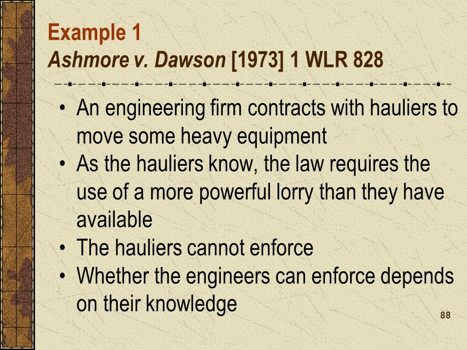 Example 1 Ashmore v.