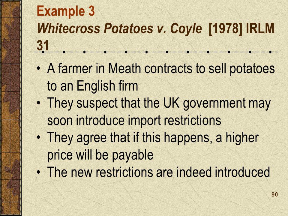 Example 3 Whitecross Potatoes v.