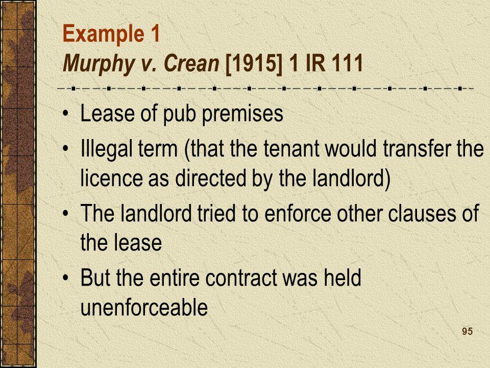 Example 1 Murphy v.