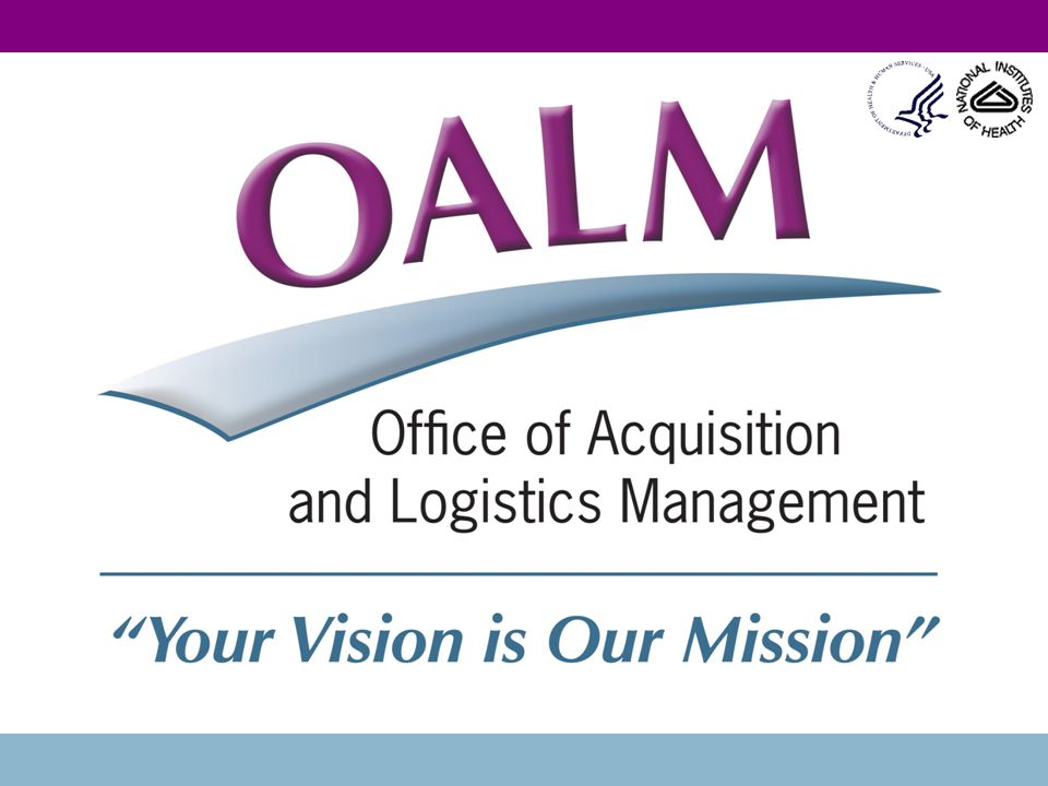 2 NIH RESEARCH CONTRACTS Erin Flynn Pacifico Division of Acquisition Policy & Evaluation OAMP/NIH