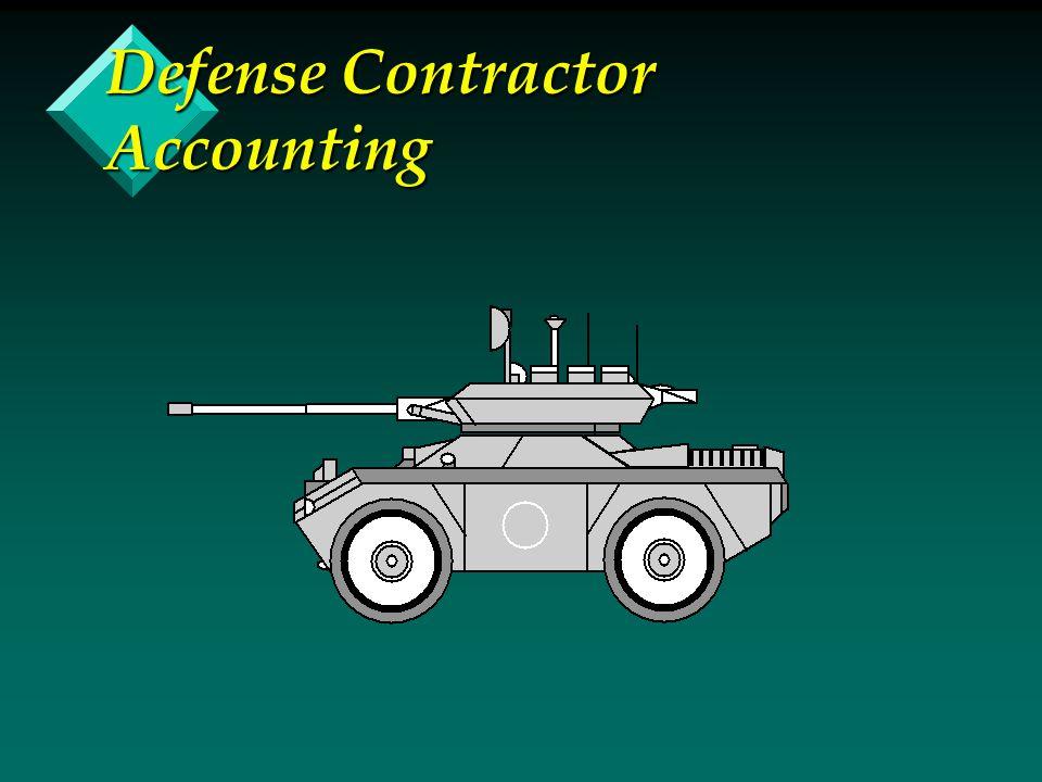 Defense Contractor Accounting