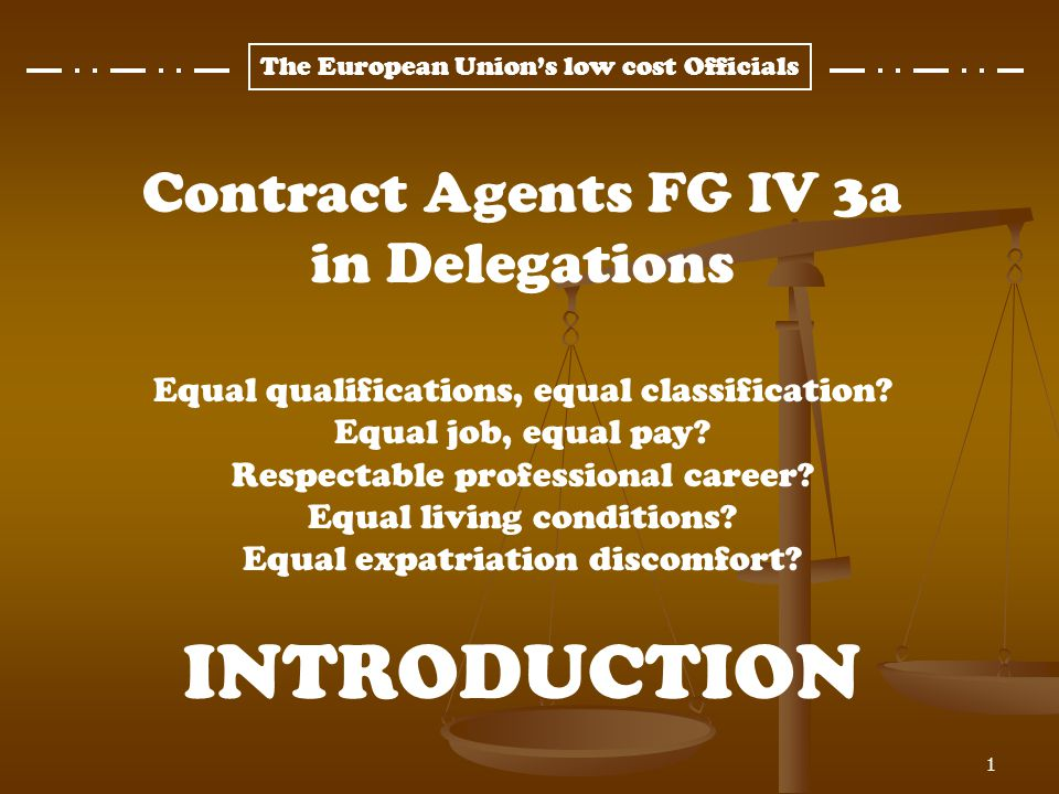 The European Unions low cost Officials 2 NO CAREER AT ALL! Steady, although slower since 2004