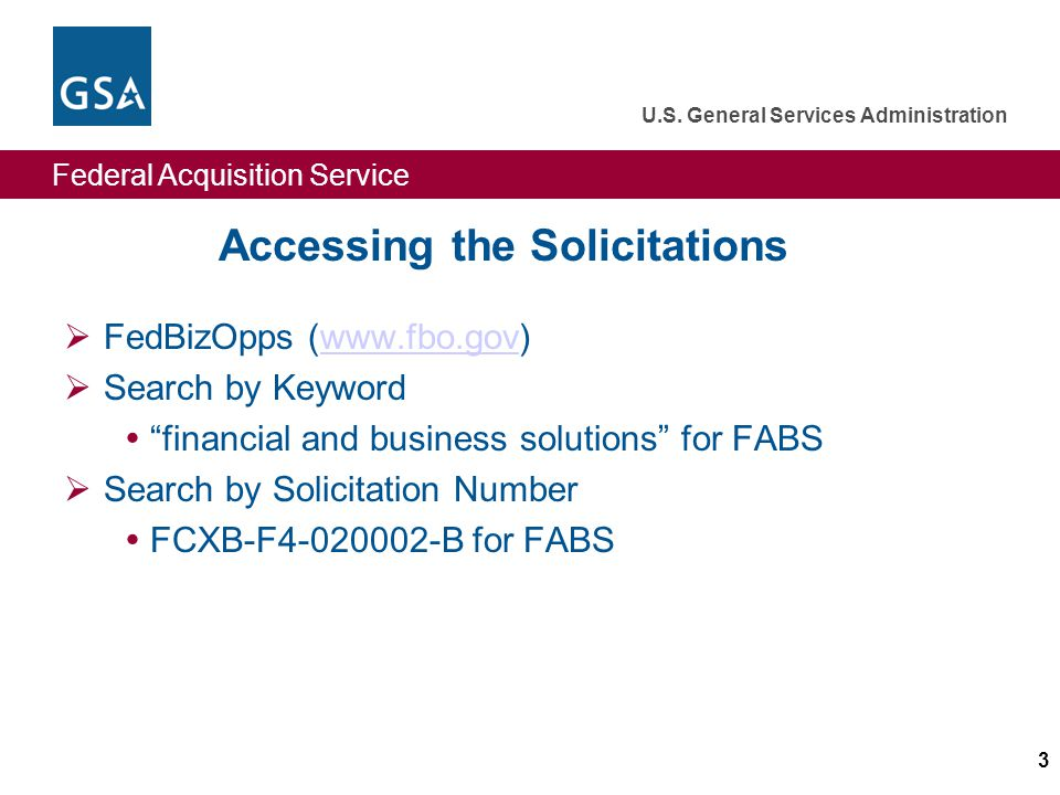 Federal Acquisition Service U.S. General Services Administration 44 GSA Offer Evaluation