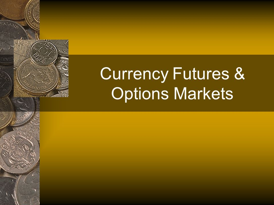 Consider now the value of an option to purchase one unit of foreign currency at that same price (i.e.