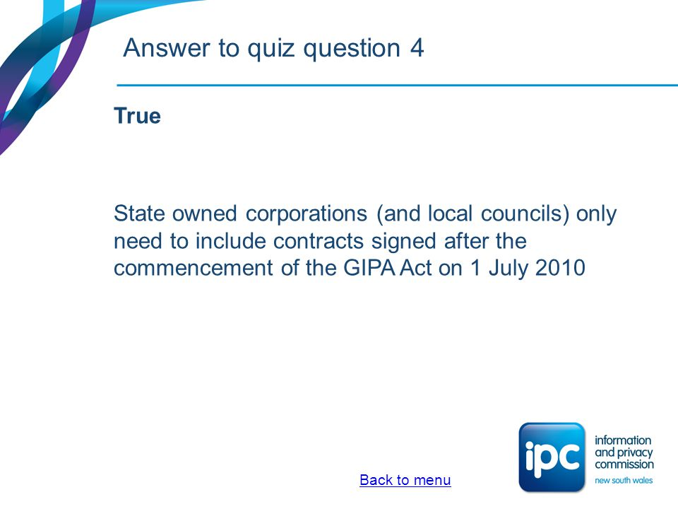 Quiz 5.My agency has a new contract for $6 million.