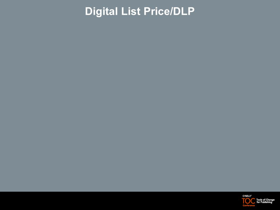 Digital List Price/DLP
