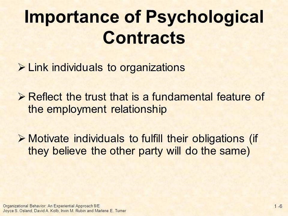 Psychological Vs.