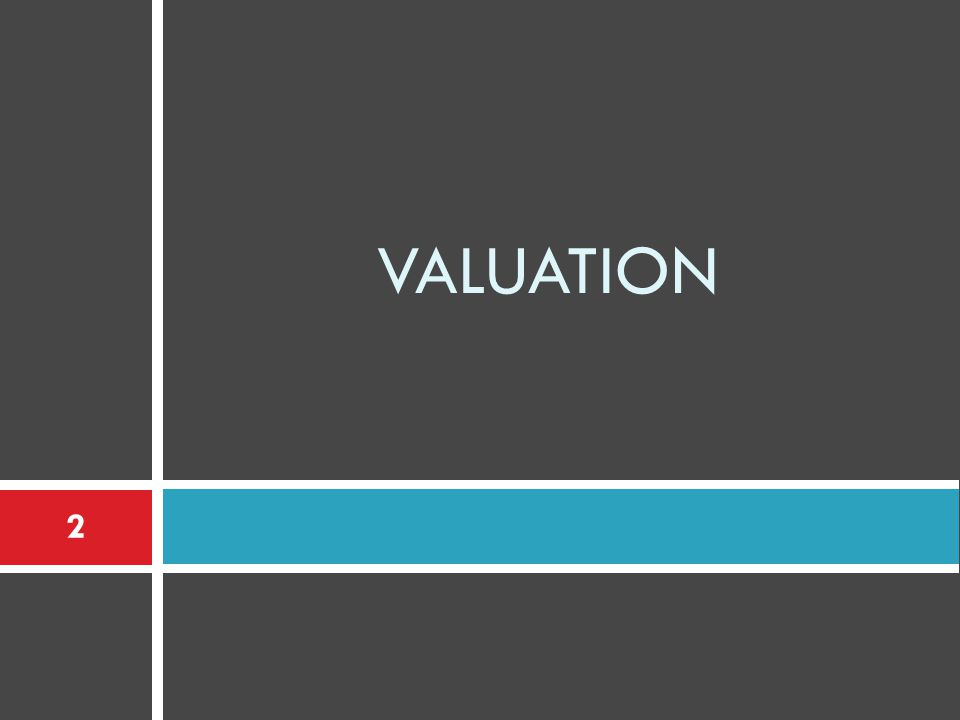 VALUATION 2