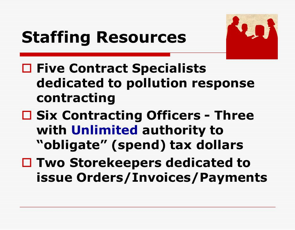 Non-BOA KTR (cont.) Contracting Officer contacts contractor checks debarred list ensures contractor is registered at CCR.gov establish Terms and Conditions Sub-contract approvals Disposal, etc.