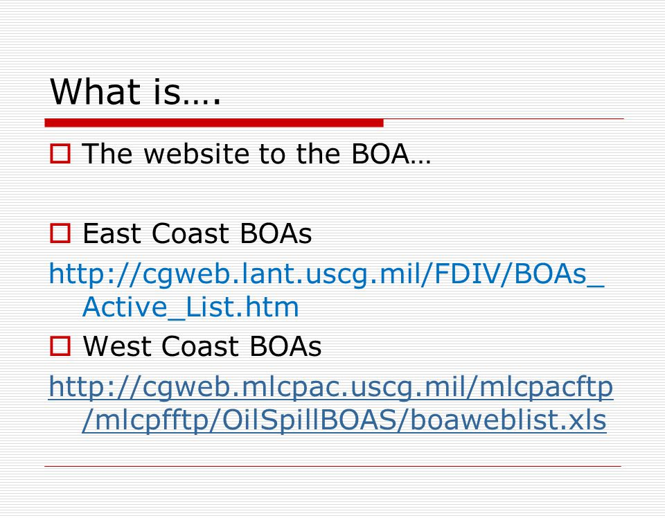 What if… Your prime BOA contractor wants to hire another BOA contractor as their sub-contractor…