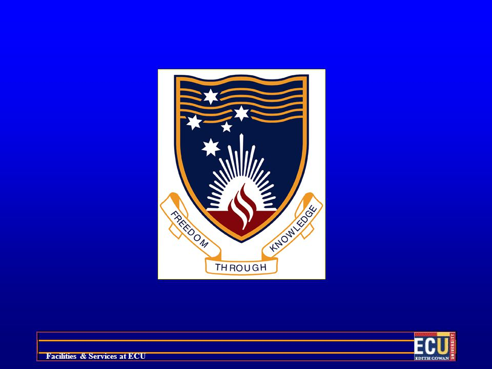 Facilities & Services at ECU