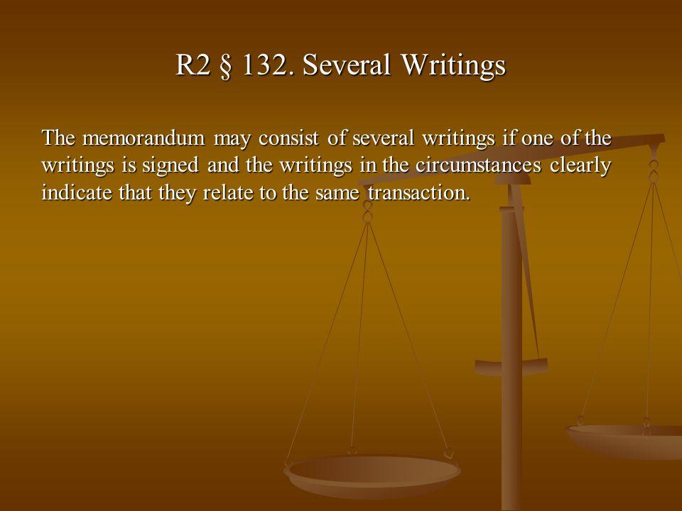 R2 § 132.