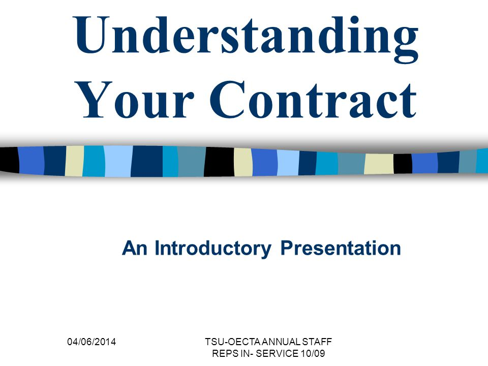 Salary Placement Determined in two main ways: category placement (determined by QECO (Qualifications Evaluation Council of Ontario) years of experience (determined by either the number of years you have been teaching OR related years of experience) 04/06/2014 TSU-OECTA ANNUAL STAFF REPS IN- SERVICE 10/09