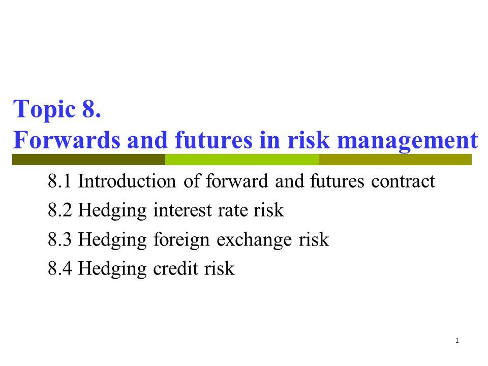 32 8.2 Hedging interest rate risk R = R F = + 0.5% R = R F = –0.5% E (Eq.