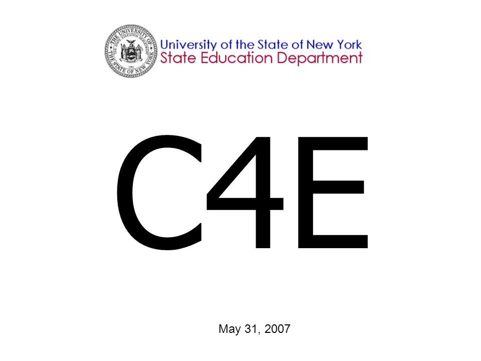 C4E May 31, 2007