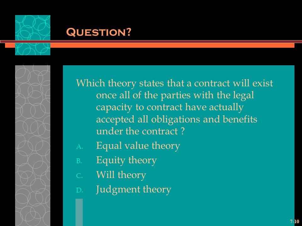 7-10 Question.