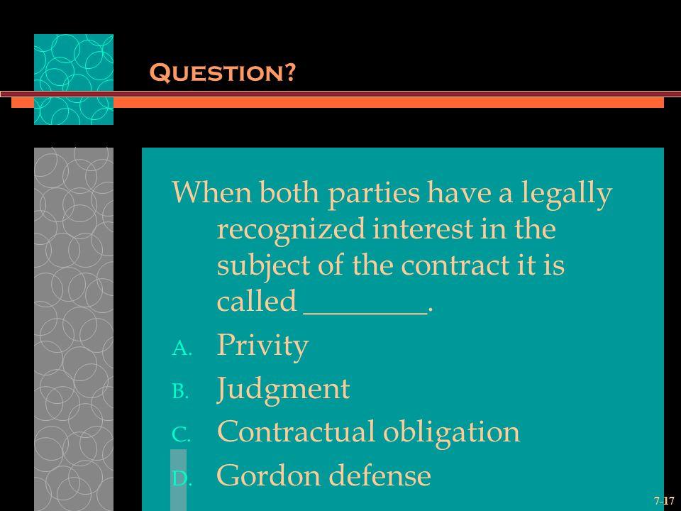 7-17 Question.