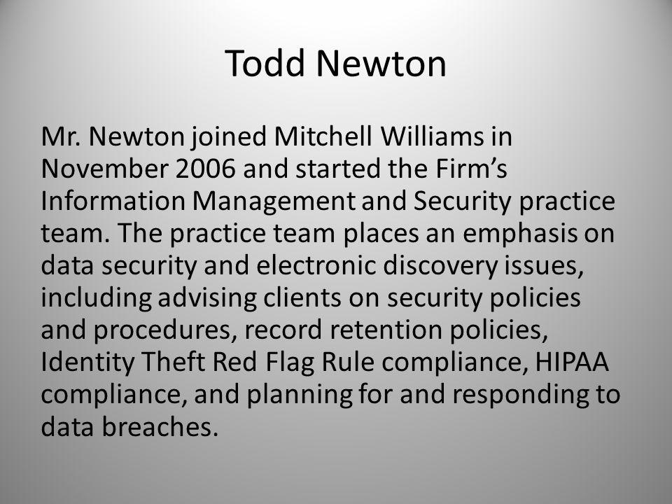 Todd Newton Mr.
