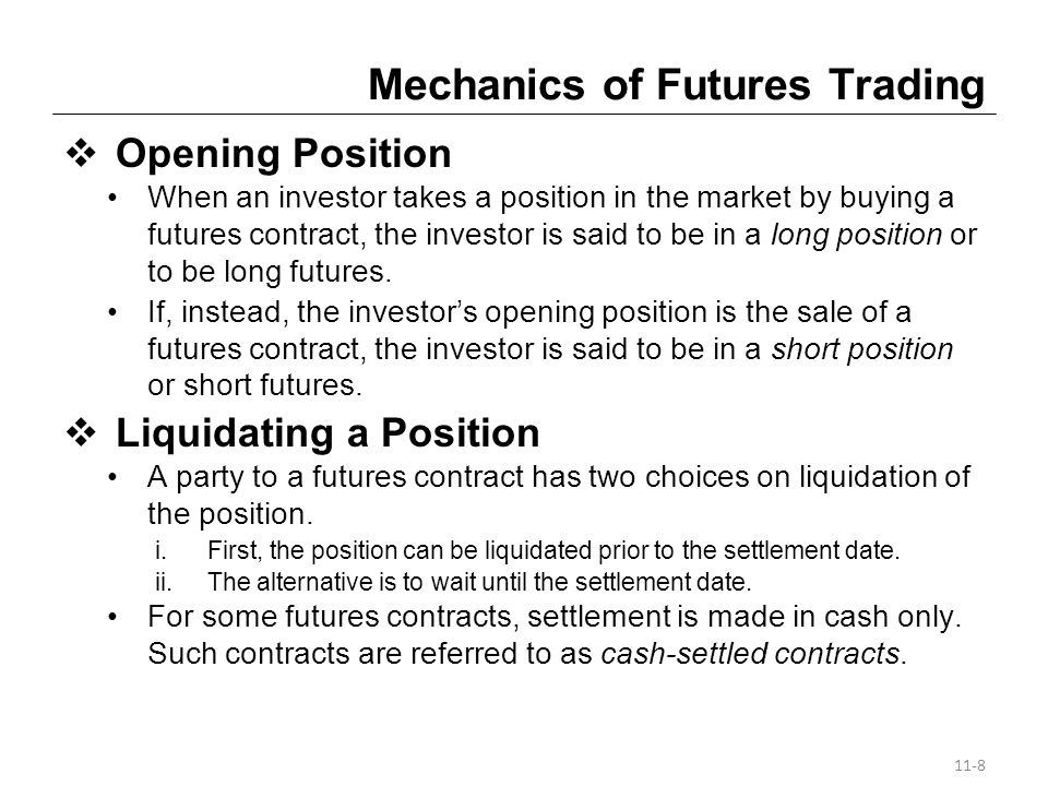 Currently Traded Interest-Rate Futures Contracts (contd) Eurodollar Futures The minimum price fluctuation for the index price is a half a tick, or $12.50.
